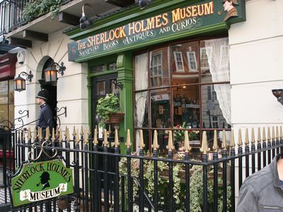 Number 221b Baker Street is a famous address - and just three minutes away
