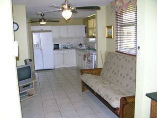 Vega Baja condo photo - Kitchen & Family Room