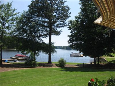 Boat slip for your use and million dollar view of Lake Oconee!!