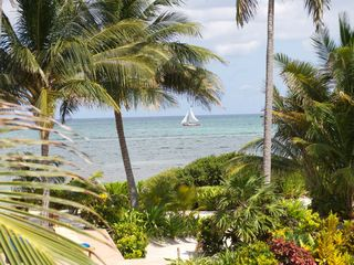 Ambergris Caye villa photo - Morning view from your balcony