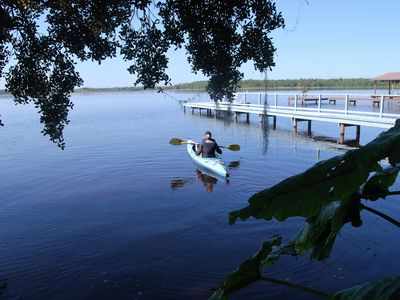 Relax/Watch Sunsets & Birds Over Lake, Between Lk Placid & Sebring