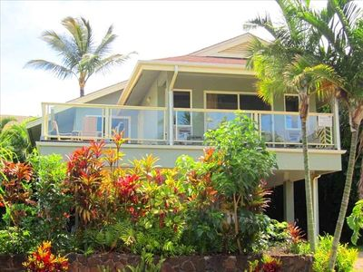 Spacious 3 bedroom ocean view home with lanai!