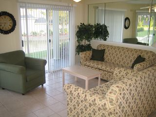 Calabash condo photo - LIVING ROOM relax watch TV, play some games or check out the turtles in the pond