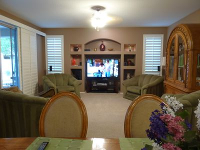 View of the family room