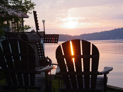 Cranberry Lake cottage rental - Sun on the Bay