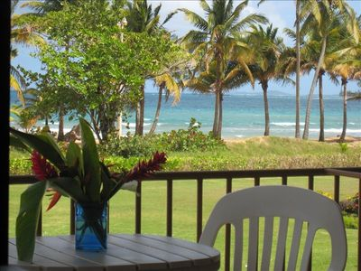 Beautiful Beach front property.  Steps from the sand and amazing views.