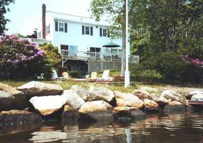 Waterfront on Little Pond, AC and Wi/fi