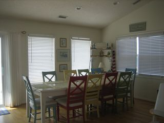 Surf City house photo - Upper Level Dining Area