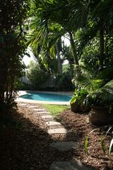 Fort Lauderdale house photo - Lush Landscaping around private pool area
