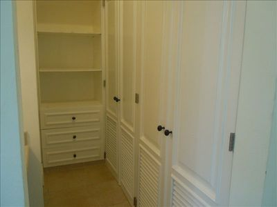 Master Bedroom Closet Space