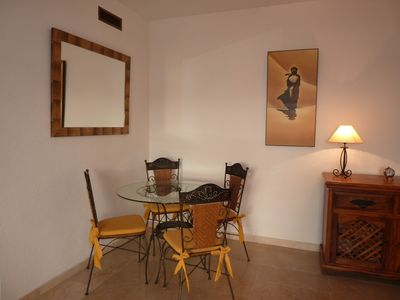 Dining area for four persons