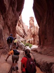 Moab condo photo - Fiery Furnace guided tour.
