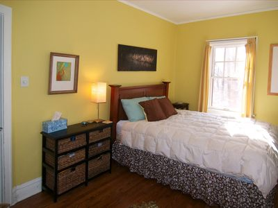 Beverly Shores house rental - Master bedroom with queen bed