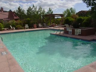 Sedona condo photo - Swimming Pool and Jacuzzi for Your Comfort