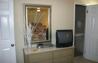 this view was taken prior to addition of new 32-inch flat screen tv