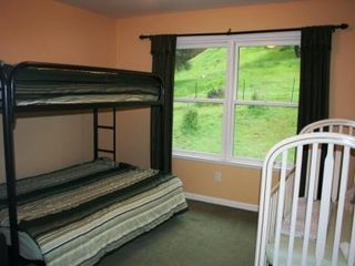 Auburn house photo - #5. Upstairs Bunk Room- Single over Double plus a full size Crib.
