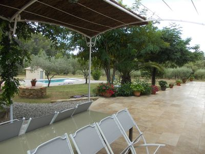 Superb Provencal farmhouse with all comfort in a quiet location