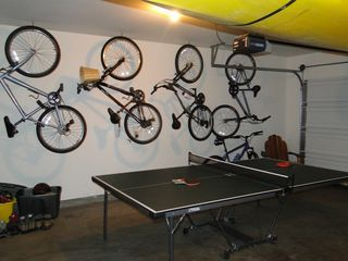Sunriver house photo - Ping pong table & 6 bikes to use with pull along trailer for 2 toddlers.
