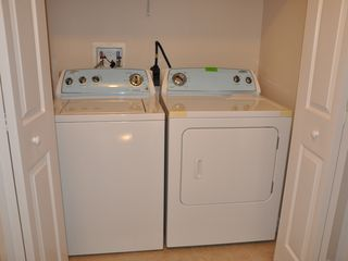 Oakwater townhome photo - Brand New Washer and Dryer