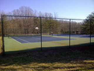Moneta house photo - Community tennis courts