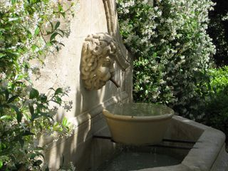 fountain - Gordes farmhouse vacation rental photo