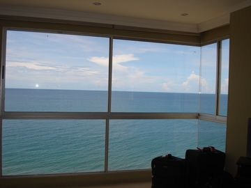 Bocagrande condo rental - Ocean view from Master bedroom