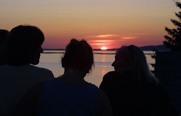 Beulah apartment rental - Enjoy relaxation and beautiful Crystal Lake sunsets from your private balcony