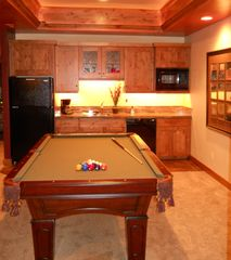 Snowbasin house photo - Enjoy a game of pool