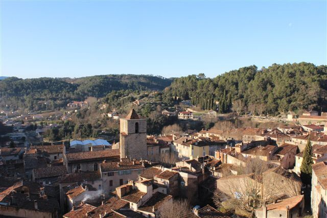 Holiday apartment, 165 square meters , Barjols, France