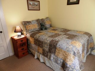 Chimney Rock cottage photo - Double bed with Serta Perfect Sleeper pillow top mattress purchased in 2013.