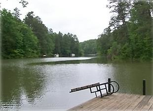 Enjoy your own private dock for fishing, canoeing and kayaking