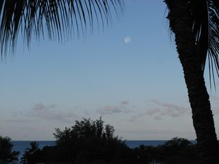 Kihei condo photo - Early Eve Ocean View from Lanai/Balcony