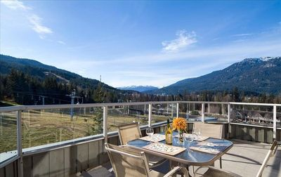 Whistler condo rental - Private Balcony