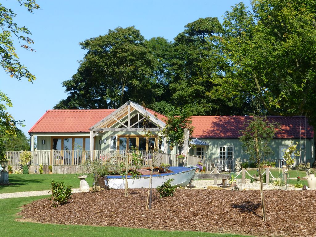 The Pavilion House at Killerby Hall 5 Star Gold Rated
