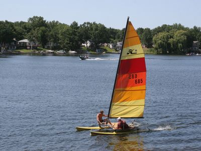 14' Hobie Cat Sailboat for Rent