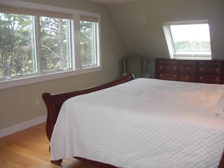 Wellfleet house photo - Master bedroom #1 Wonderful views and calming breezes