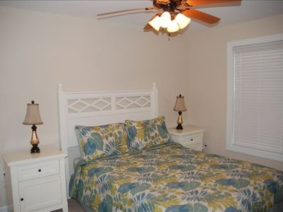 2nd bedroom, queen size w/ full closet