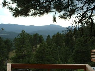 Evergreen house photo - Oh, what a view from the Hot Tub at the House! Relax & Enjoy!