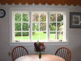 Little Compton farmhouse photo - kitchen view