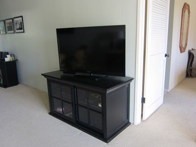 Brand new Flat screen TV in living room