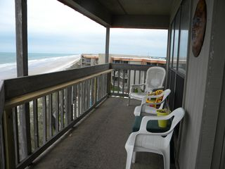 North Topsail Beach condo photo - Balcony