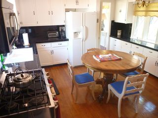 La Jolla house photo - Kitchen with gas stove/oven, dishwasher, and all cookware and dishes & utensils.