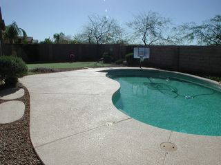 Cave Creek house photo - Pool and Putting Green