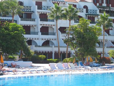 Las Americas apartment rental - THE CLOSE PROXIMITY OF THE POOLS TO THE 2 BED.APT.