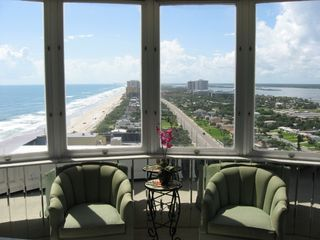 Daytona Beach condo photo - See the Ocean and River from the Master Suite