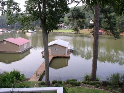 Guntersville Lake Vacation Rental Boat House Greenwood Lake House