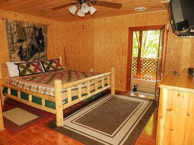 Master Bedroom and Deck! Aha!