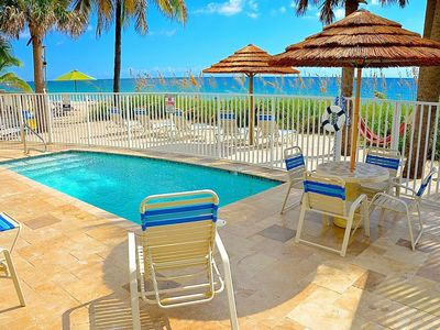 Direct Oceanfront Heated Pool Offering Exclusive Resort Setting w/Endless Views