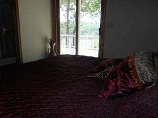 Laurie house photo - .Master bedroom looking out to the lake