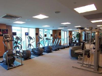 Brickell apartment rental - The gym
